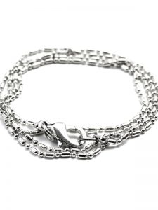 1pc Singapore Stainless Steel Chain Necklace Base - CousinDIY