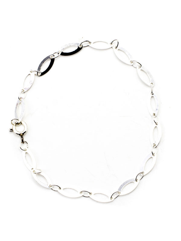 and you can buy a matching anklet! Sterling silver bracelet 1 pc